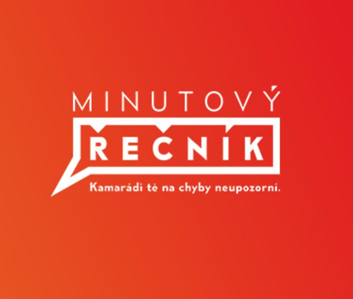 Minutový řečník - logo