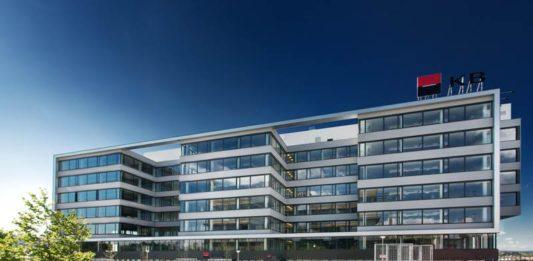 Komerční banka (KB) - nová centrála v Praze
