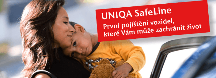 UNIQA SafeLine - pojištění vozidel