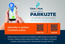 AplikaceClick Park - smart city