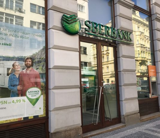Sberbank CZ pobočka Praha, Lazarská