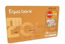 Zlatá platební karta Equa bank