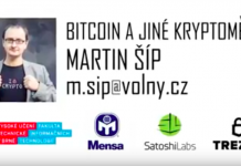 Uvod do Bitcoinu a dalsich kryptomen - Martin SIp - SatoshiLabs - TREZOR