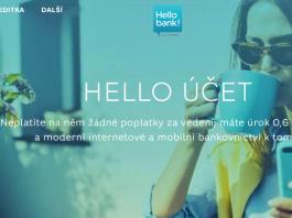 Bankovní a spořící účet od Hello bank!