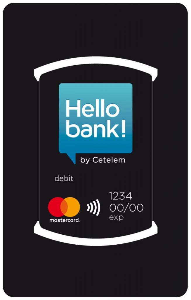 Platební nálepka Hello bank