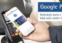 Fio banka - platba mobilem Google Pay