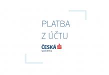 Česká spořitelna - Platba z účtu