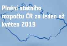 Schodek státního rozpočtu - květen 2019